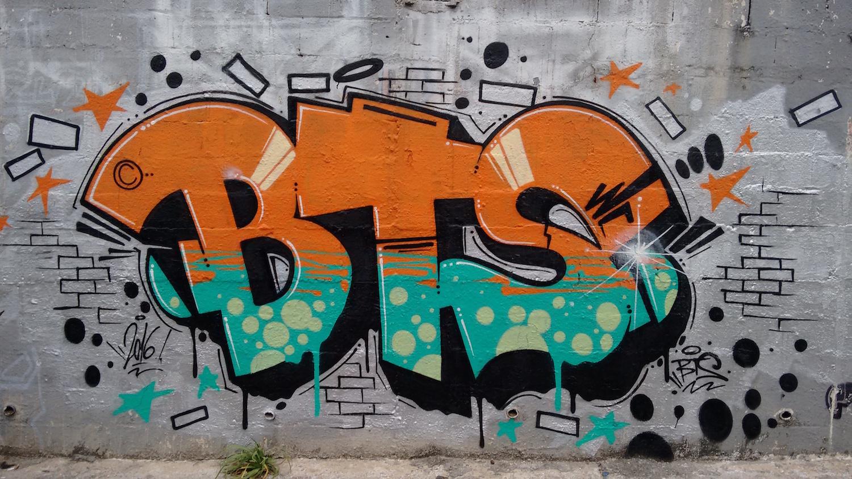 данном случае фото граффити для начинающего есть